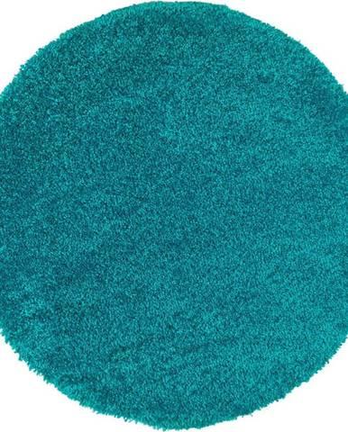 Modrý koberec Universal Aqua Liso, ø100cm