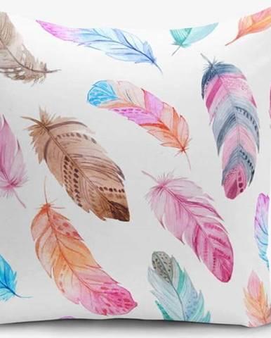 Povlak na polštář Minimalist Cushion Covers Bird Pendants, 45 x 45 cm