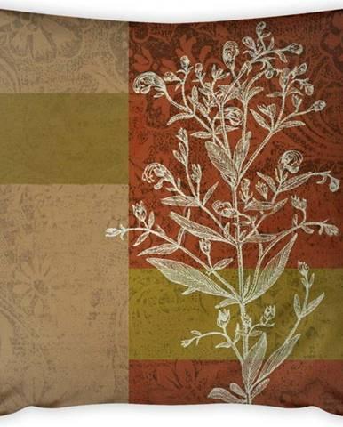 Povlak na polštář Vitaus Autumn Parade Tree, 43 x 43 cm
