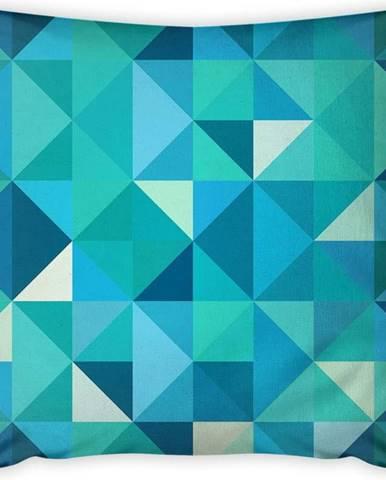 Povlak na polštář Vitaus Sermento Azul, 43 x 43 cm