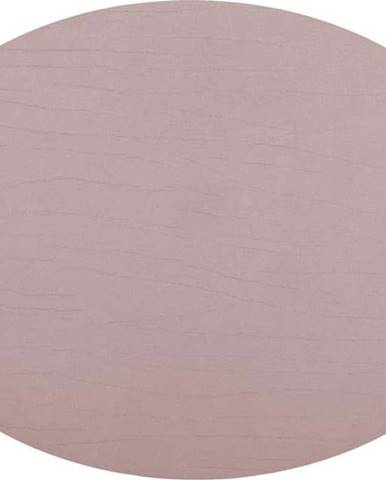 Růžové prostírání z recyklované kůže ZicZac Titan, 33x45cm