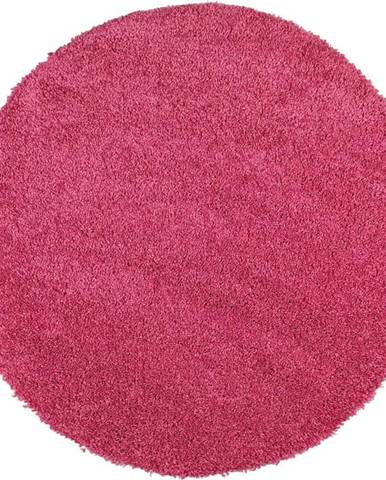 Růžový koberec Universal Aqua Liso, ø100cm