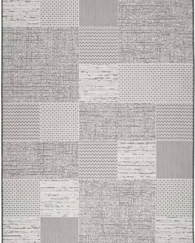 Šedobéžový venkovní koberec Universal Weave Mujro, 77 x 150 cm