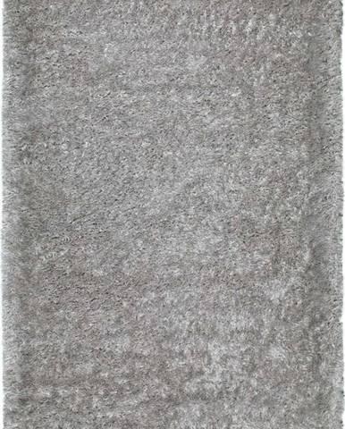 Šedý koberec Universal Aloe Liso, 80 x 150 cm