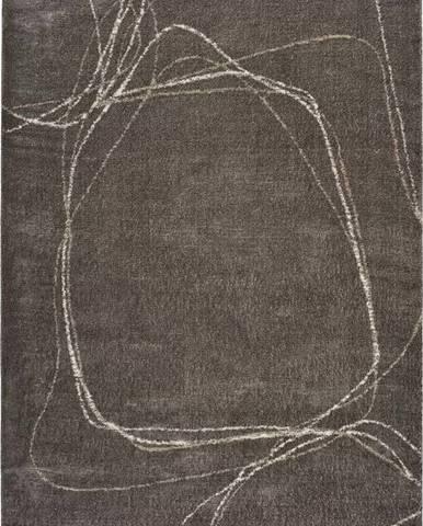 Šedý koberec Universal Moana Treo, 160 x 230 cm
