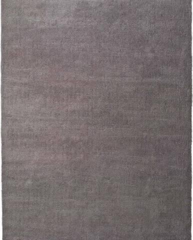 Šedý koberec Universal Shanghai Liso, 60x110cm