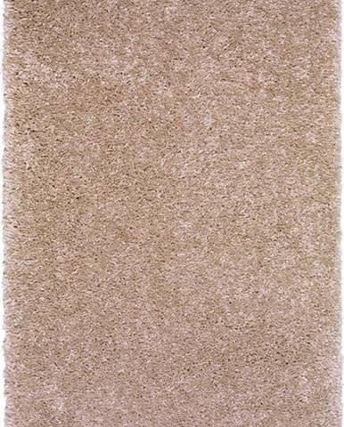 Světle hnědý koberec Universal Aqua Liso, 57x110cm