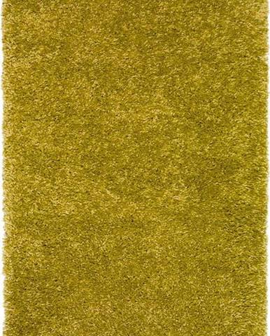 Zelený koberec Universal Aqua Liso, 57 x 110 cm