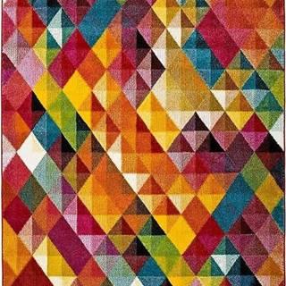 Koberec Universal Belis Triangles, 60 x 120 cm