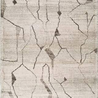 Krémový koberec Universal Moana Creo, 60 x 110 cm
