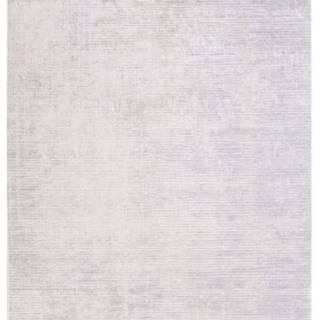 Šedý koberec Vitaus Hali Geometrik, 80x150cm