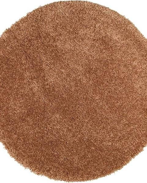 Universal Hnědý koberec Universal Aqua Liso, ø80cm