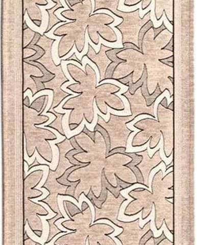 Béžový běhoun Floorita Maple, 55 x 140 cm