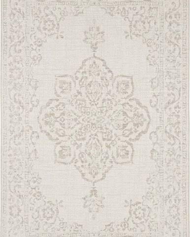Béžový venkovní koberec Bougari Tilos, 80 x 150 cm