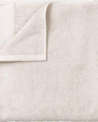 Bílá bavlněná osuška Blomus, 100x200cm