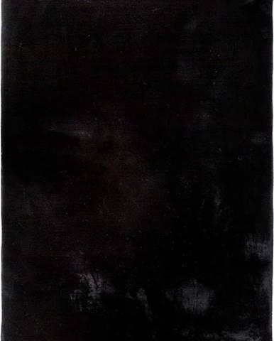 Černý koberec Universal Fox Liso, 120 x 180 cm