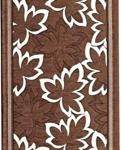 Hnědý běhoun Floorita Maple, 55 x 190 cm