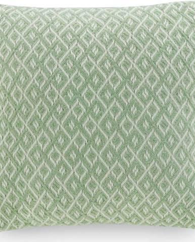 Mentolově zelený povlak na polštář Euromant Agave, 45 x 45 cm