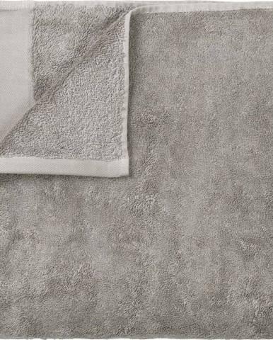 Šedá bavlněná osuška Blomus, 70x140cm