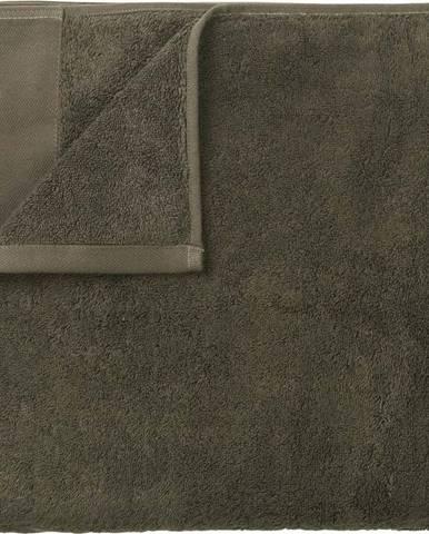 Zelený bavlněný ručník Blomus, 50x100cm