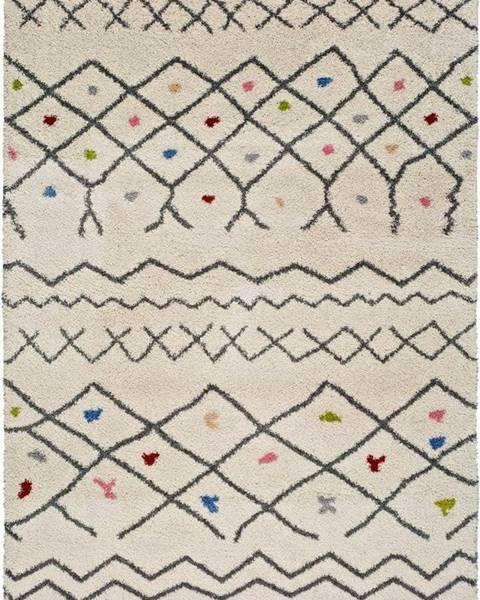 Universal Bílý koberec Universal Kasbah Puro, 80 x 150 cm
