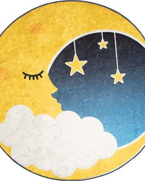 Bonami Dětský koberec Moon, ⌀140cm
