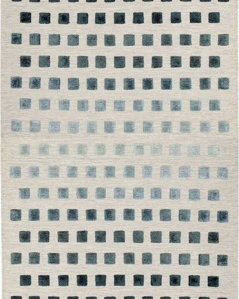 Asiatic Carpets Koberec Asiatic Carpets Theo Silvery Squares, 160 x 230 cm