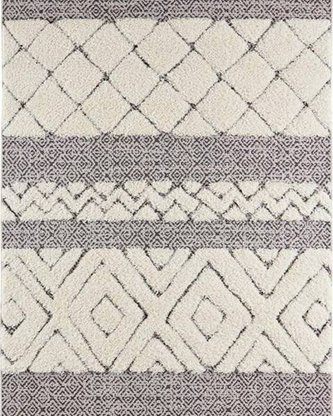 Mint Rugs Krémově černý koberec Mint Rugs Todra, 80 x 150 cm