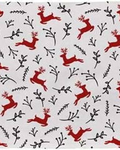 Bavlněný běhoun s vánočním motivem Butter Kings They Are Flying,140x40cm