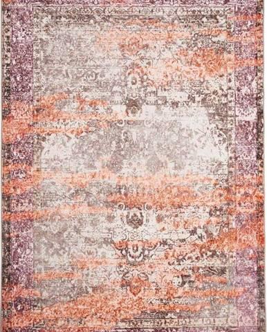 Béžovo-oranžový koberec Floorita Vintage, 80 x 150 cm