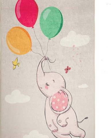 Dětský protiskluzový koberec Chillai Balloons,100x 160cm