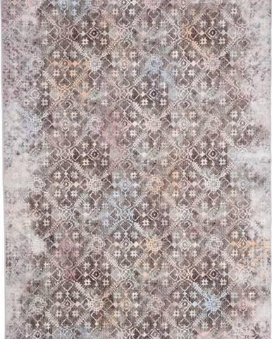 Hnědý koberec Floorita Astana, 120 x 180 cm