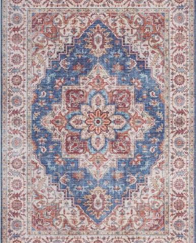 Modro-červený koberec Nouristan Anthea, 160 x 230 cm