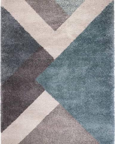 Modro-šedý koberec Flair Rugs Zula, 160 x 230 cm