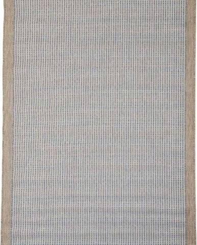 Modrý venkovní koberec Floorita Chrome, 135 x 190 cm