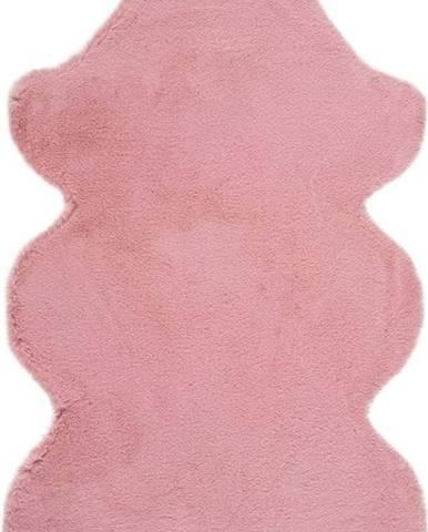 Růžový koberec Universal Fox Liso, 60 x 90 cm
