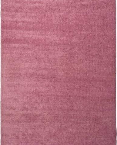 Růžový koberec Universal Shanghai Liso, 160 x 230 cm