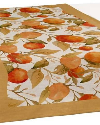 Sada 2 běhounů na stůl Linen Couture Oranges