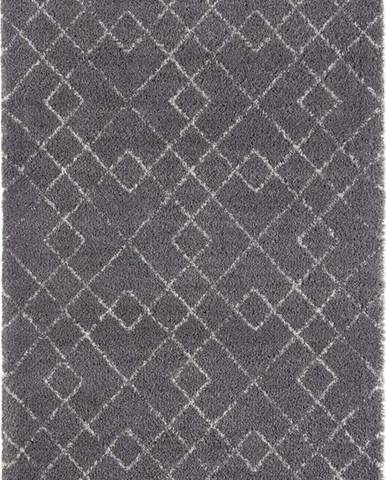 Šedý koberec Mint Rugs Archer, 80 x 150 cm