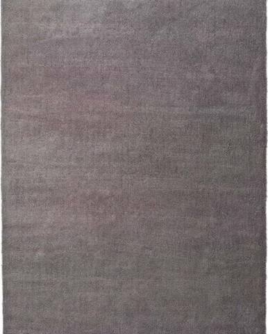 Šedý koberec Universal Shanghai Liso, 80 x 150 cm