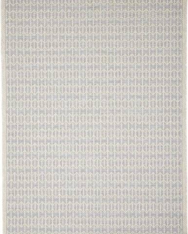 Šedý venkovní koberec Floorita Stuoia, 130 x 190 cm