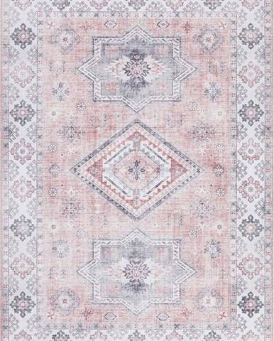 Světle růžový koberec Nouristan Gratia, 80 x 150 cm
