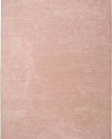 Světle růžový koberec Universal Shanghai Liso, 140 x 200 cm