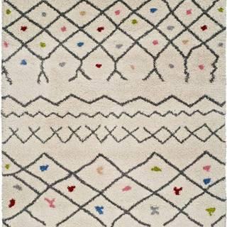 Bílý koberec Universal Kasbah Puro, 80 x 150 cm
