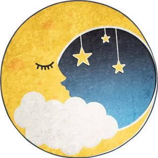 Dětský koberec Moon, ⌀140cm