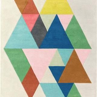 Koberec Asiatic Carpets Triangle Multi, 120 x 170 cm