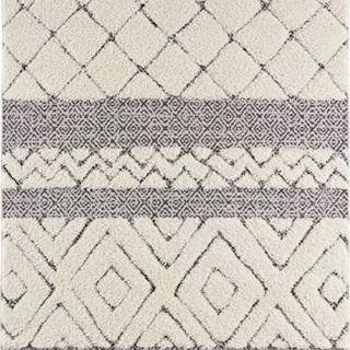 Krémově černý koberec Mint Rugs Todra, 80 x 150 cm