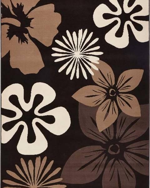 Hanse Home Koberec Hanse Home Gloria Flower Brownie, 80 x 150 cm