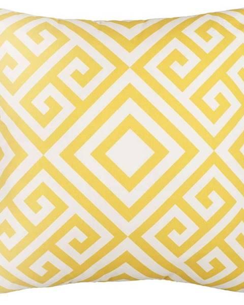 Mike & Co. NEW YORK Povlak na polštář Mike&Co.NEWYORK Lemoncurd, 43 x 43 cm