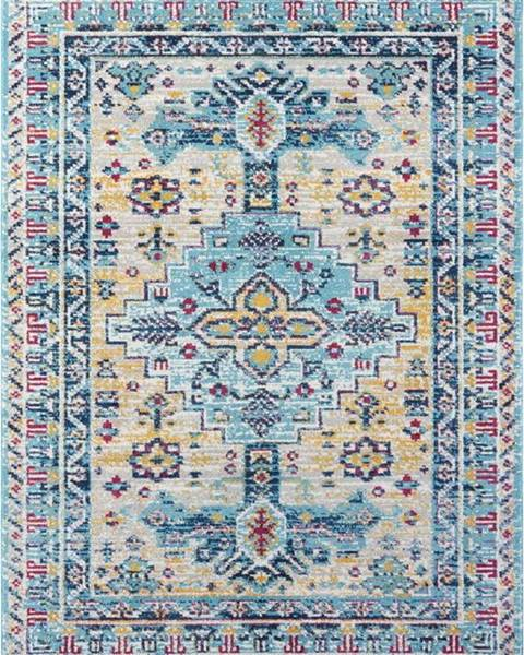 Nouristan Světle modrý koberec Nouristan Agha, 160 x 230 cm